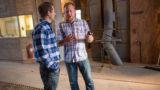 Expert sharing operating advice at a grain facility