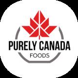Purely Canada foods logo