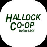 Hallock co-op logo