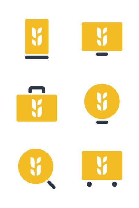 icons of Bushel platform products